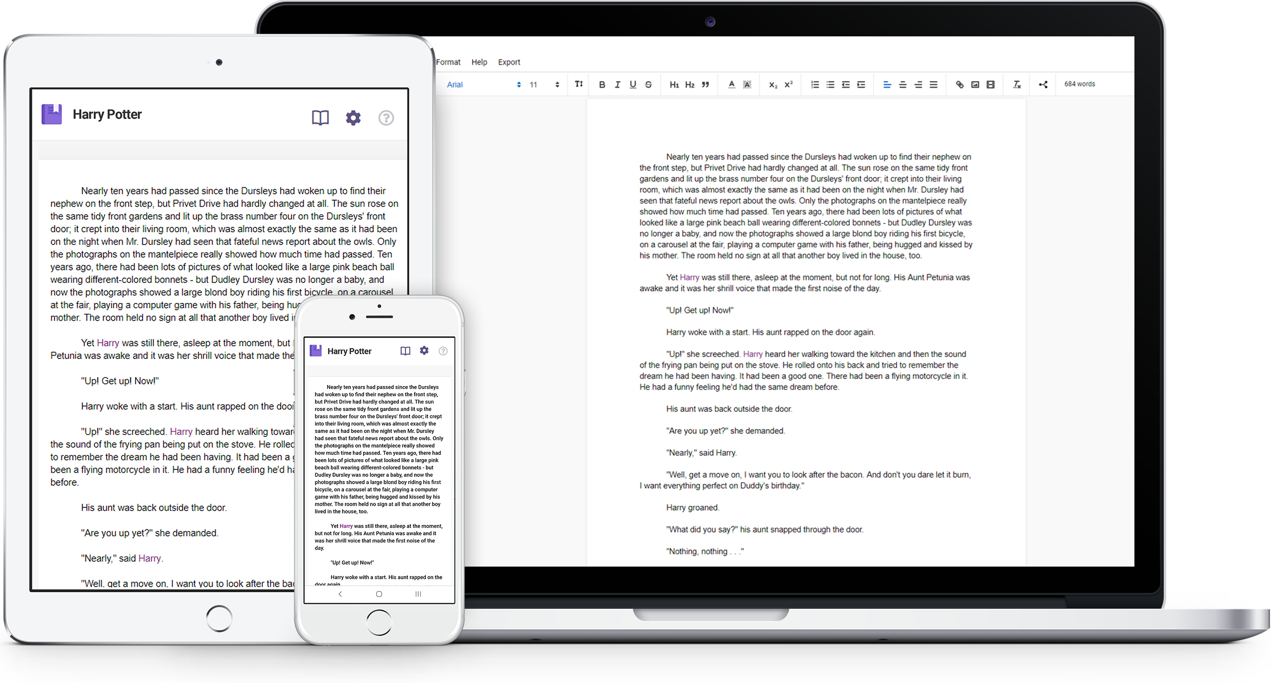 livingwriter-novel-writing-app-devices